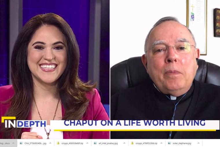 EWTN News in Depth Host Montse Alvarado talks with Archbishop Charles Chaput about his new book.