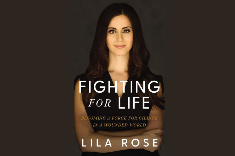 Book cover to Lila Rose's new book available May 2021.