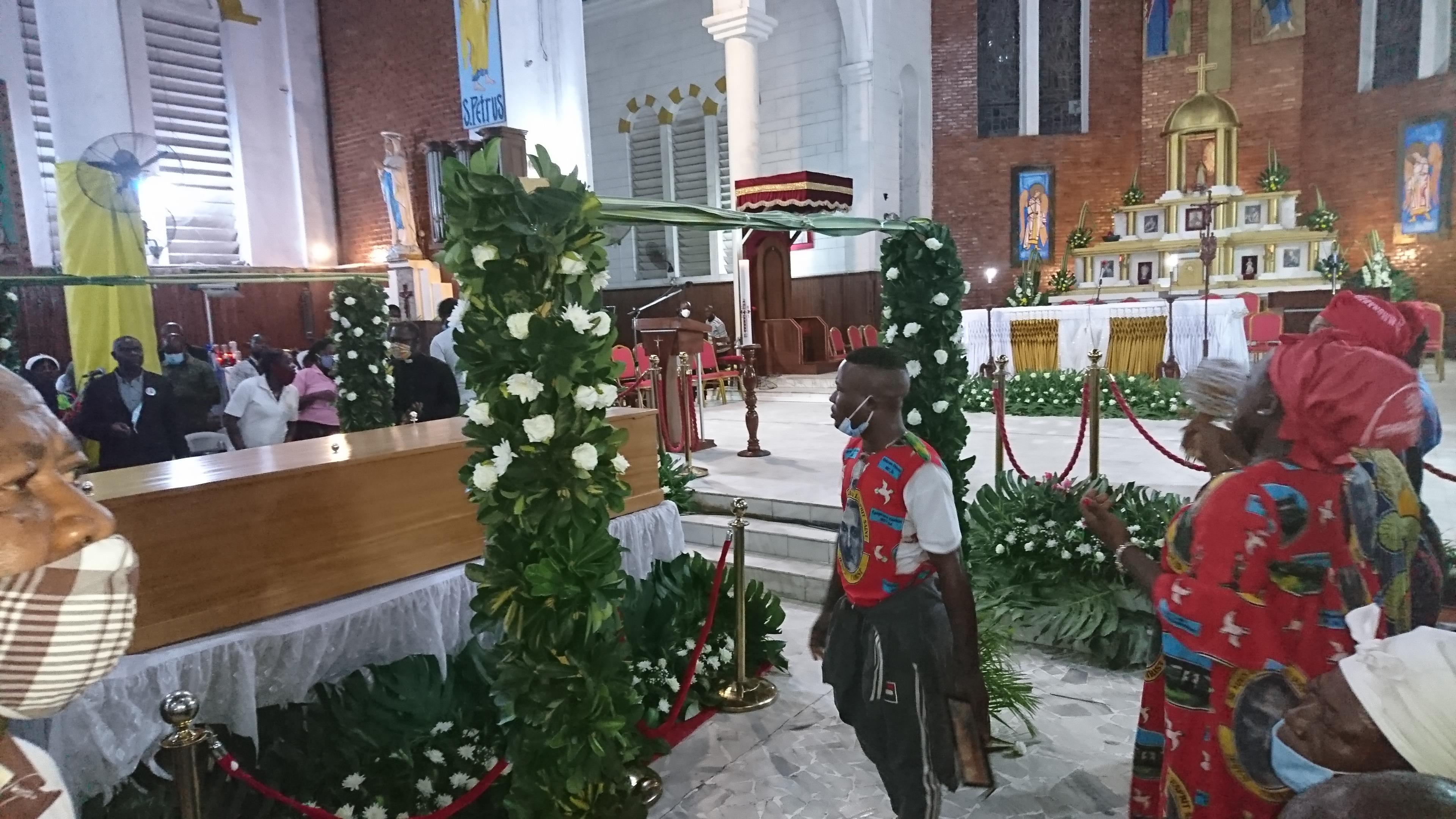Funeral of Cardinal Christian Wigyhan Tumi.