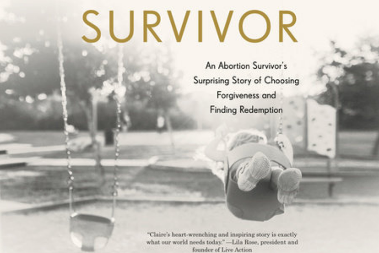 Book cover of Claire Culwell's personal story.