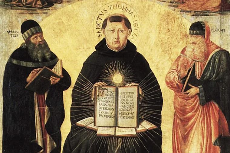 "Benozzo Gozzoli, ""Triumph of St. Thomas Aquinas,"" 1471"