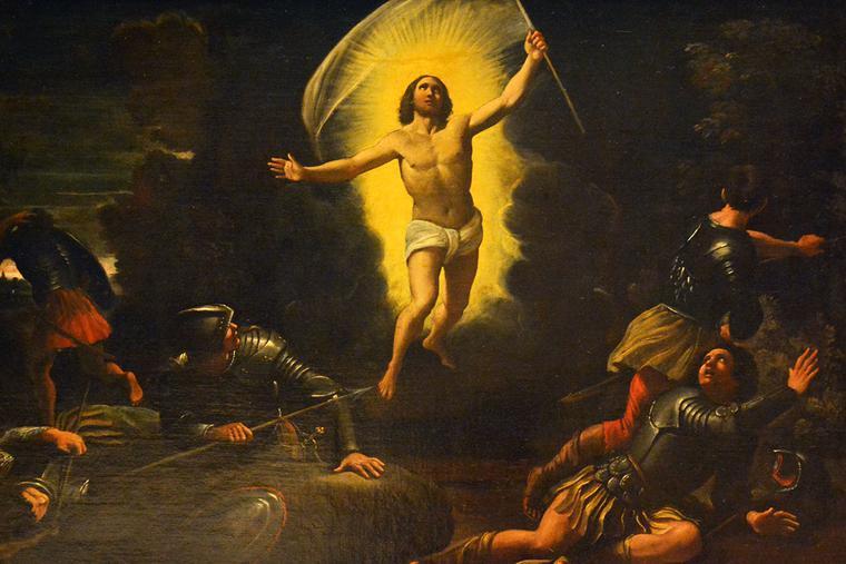 "Sisto Badalocchio (1585-1647), ""The Resurrection of Christ"""