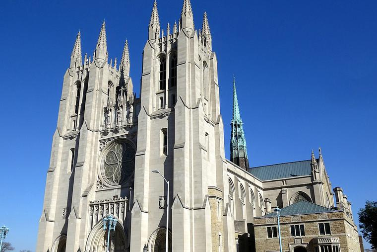 Cathedral of the Most Blessed Sacrament in Detroit, Mich.