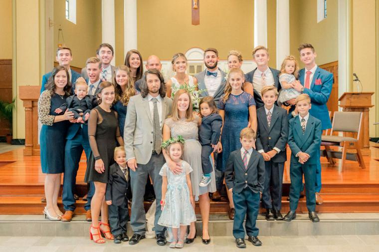 Catholic family of 16 are debt free.