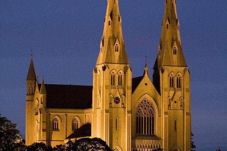 St Patrick's Cathedral in Armagh.