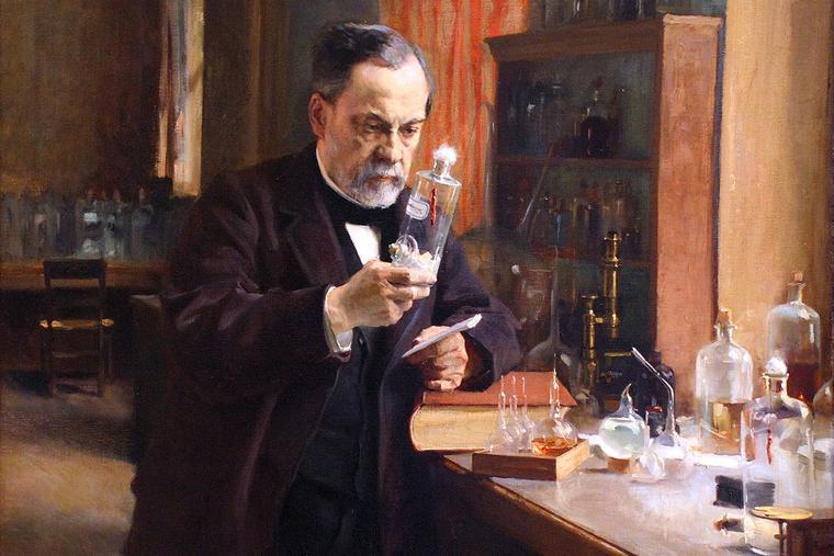 "Albert Edelfelt, ""Louis Pasteur in His Lab,"" 1885"