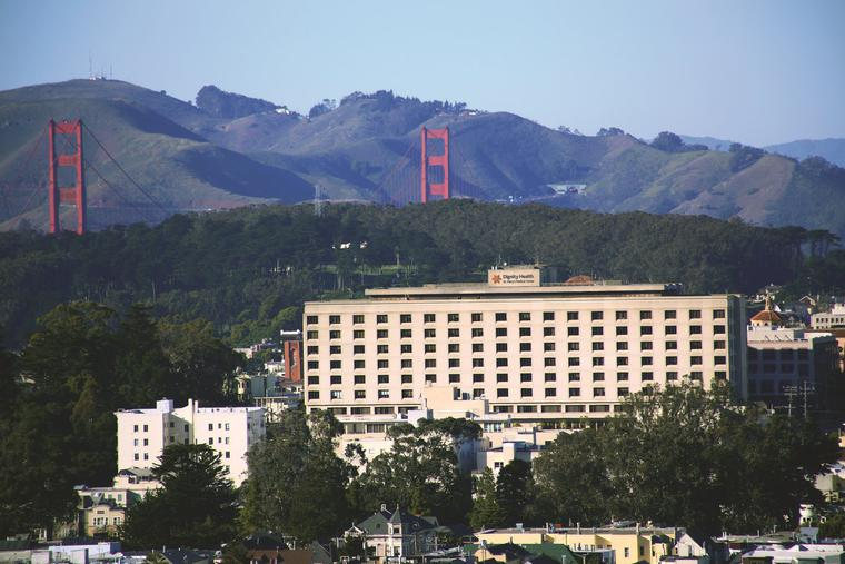 St. Mary's Medical Center in San Francisco, one of the many Catholic hospitals that will be detrimentally impacted by the new Senate bill in California.