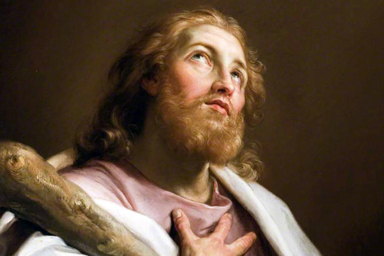 """Pompeo Batoni, """"Saint James the Less,"""" ca. 1740"""