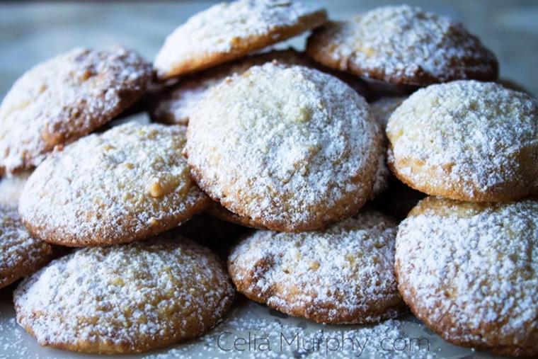 Honey-Almond Cookies