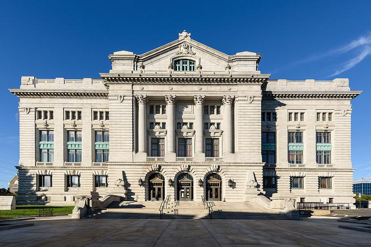Hudson County courthouse in New Jersey.