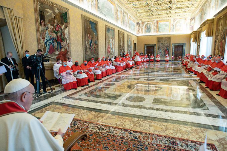 Ordinary Public Consistory for the vote on some Causes of Canonization May 3, 2021.
