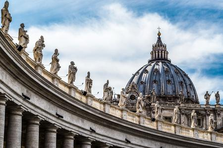 St. Peter's Basilica inside Vatican City.