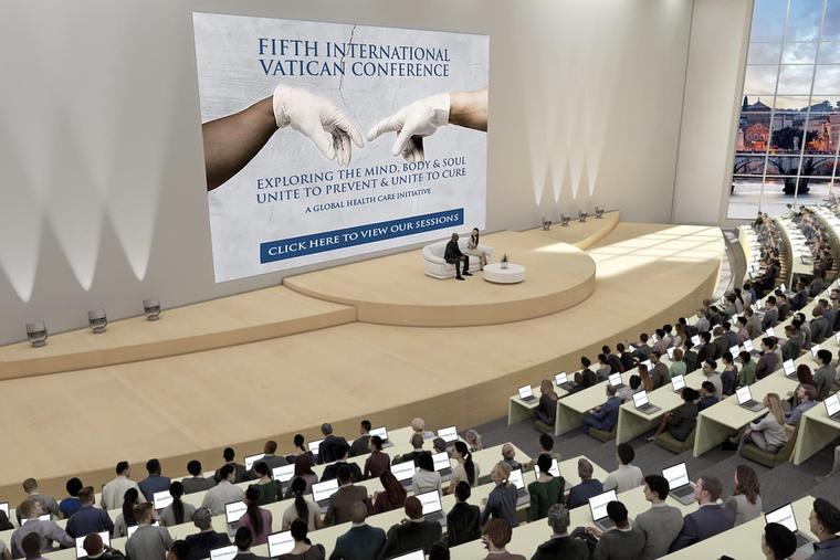 Unite to Prevent and Unite to Cure la conferencia del Vaticano el 6 de mayo de 2021.