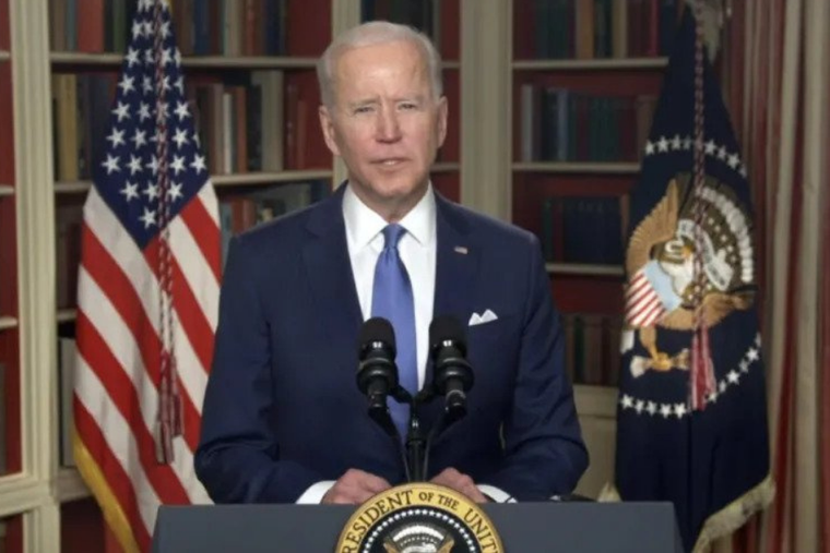 President Joe Biden delivers his National Day of Prayer proclamation May 6, 2021.