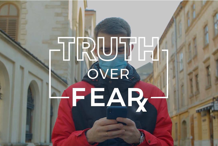 The 'Truth Over Fear Summit' is taking place right now as an online event.