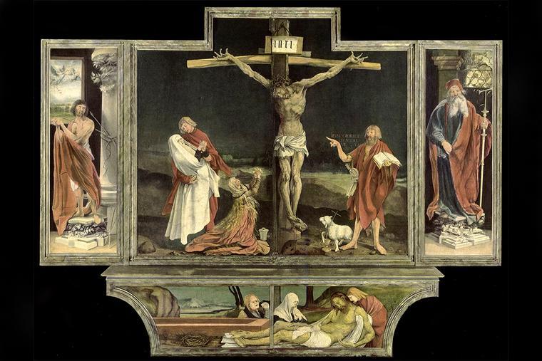 """Mathias Grünewald, """"Isenheim Altar,"""" 1512-1516"""