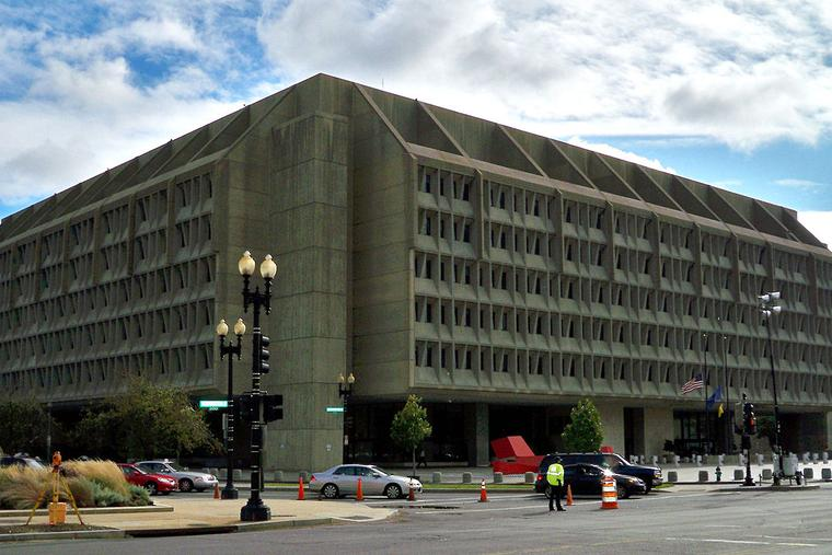 The Department of Health and Human Services headquarters by the National Mall.