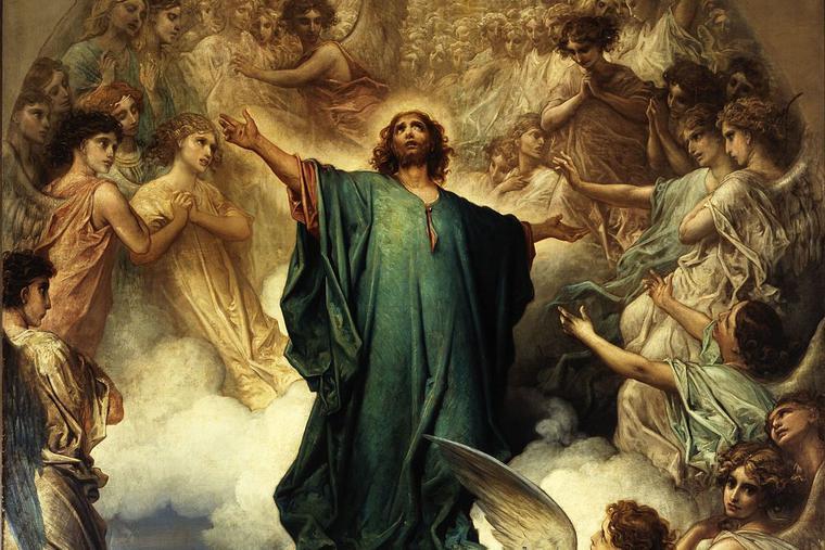 L'Ascension by Gustave Doré.