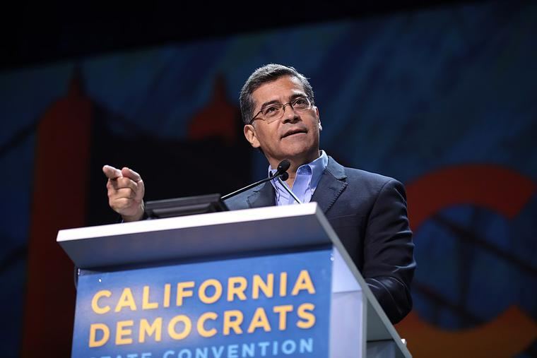 """Becerra, a Catholic, added that he was not primarily questioning the use of the term """"partial-birth abortion,"""" but was rather emphasizing """"what the rights are to the woman under our statutes and under our precedents to provide her with reproductive care that she is entitled to."""""""