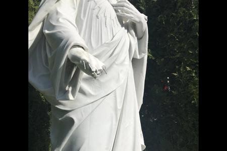 Rhode Island Statue of Jesus Vandalized