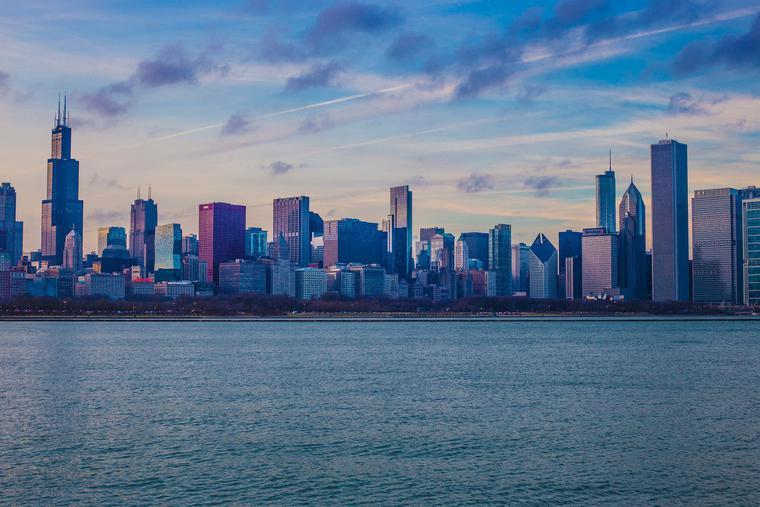 Chicago's skyline.