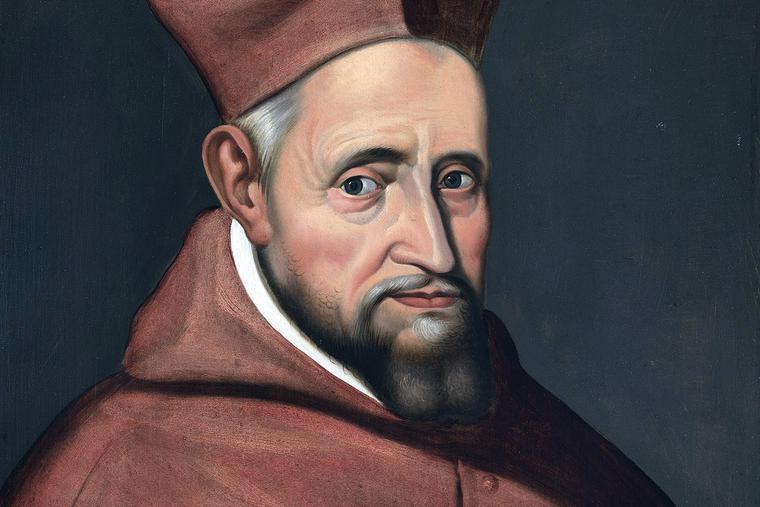 "Unknown, ""Portrait of Cardinal Robert Bellarmine,"" ca. 1622"