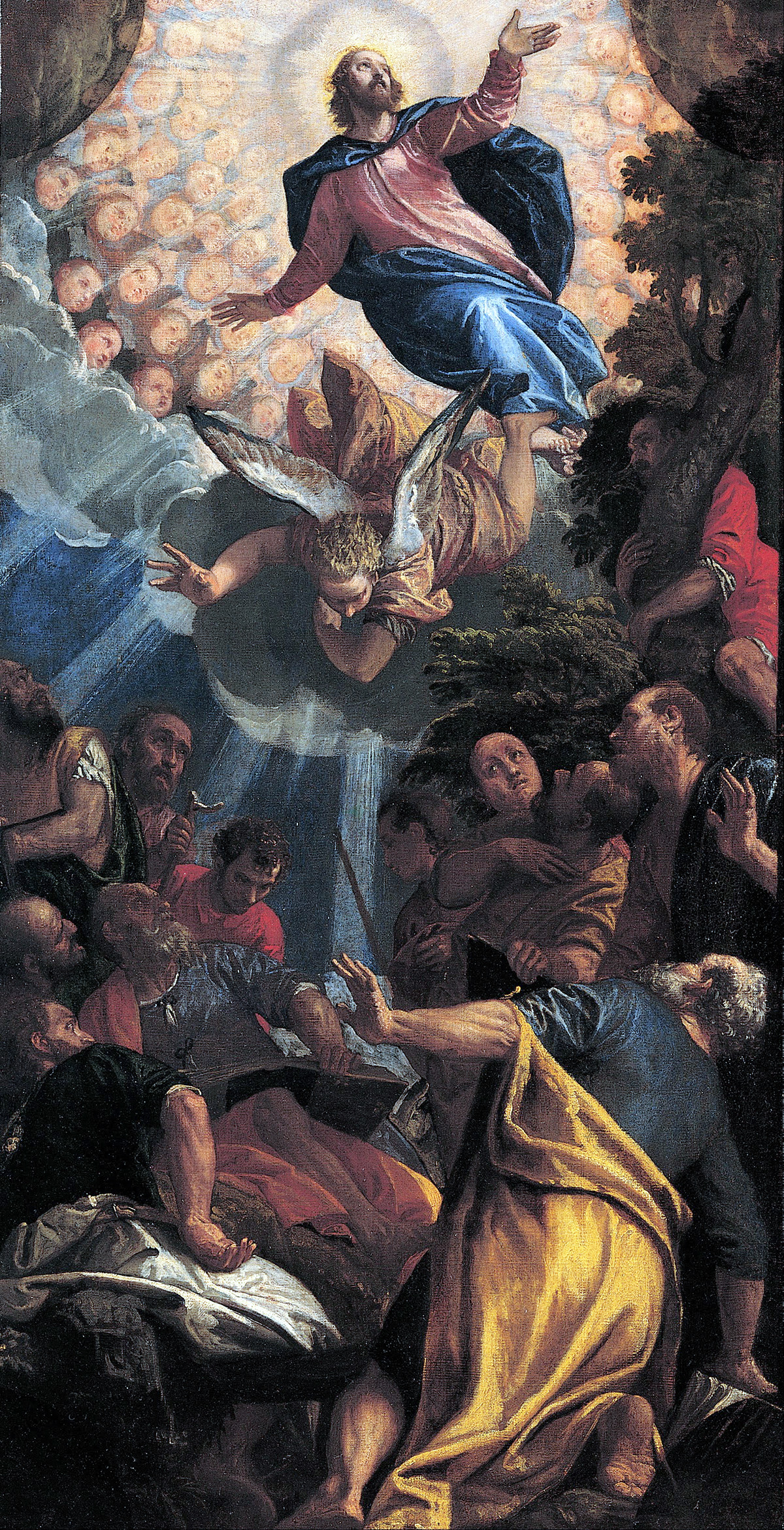 """Veronese, """"The Ascension,"""" 1585"""