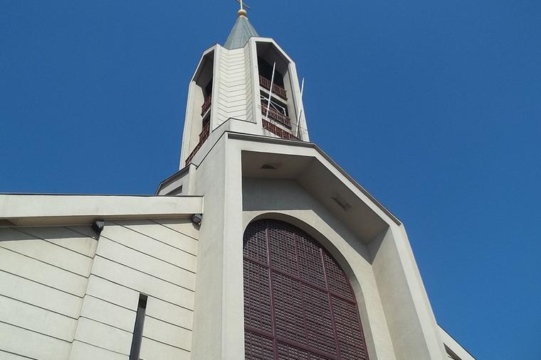 Cathedral of San Bernardo, Chile.