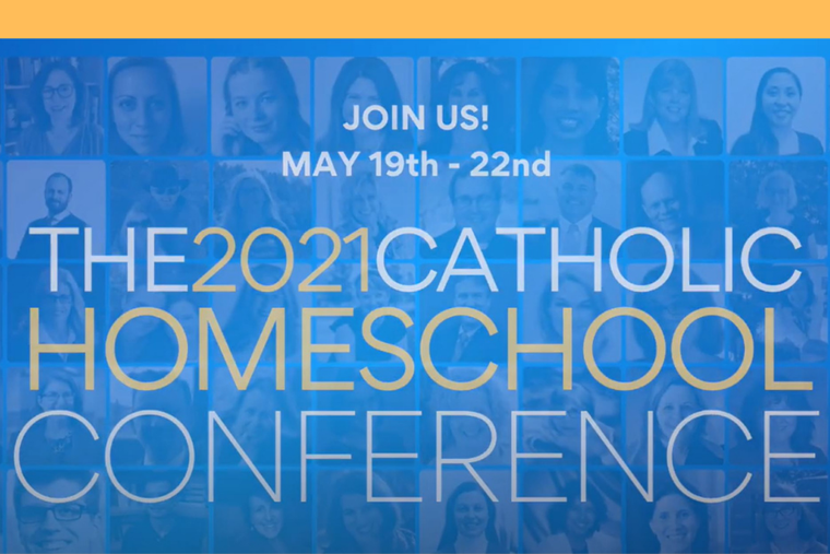 The conference features Kimberly Hahn, Father Robert Spitzer, Sarah MacKenzie, Andrew Pudewa, Pam Barnhill, Danielle Bean, Laura Berquist, Kendra Tierney and many others.
