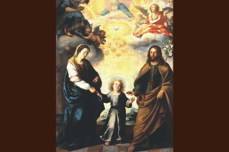 Bartolomé Esteban Murillo, 'The Return of the Holy Family From Egypt,' c. 1670