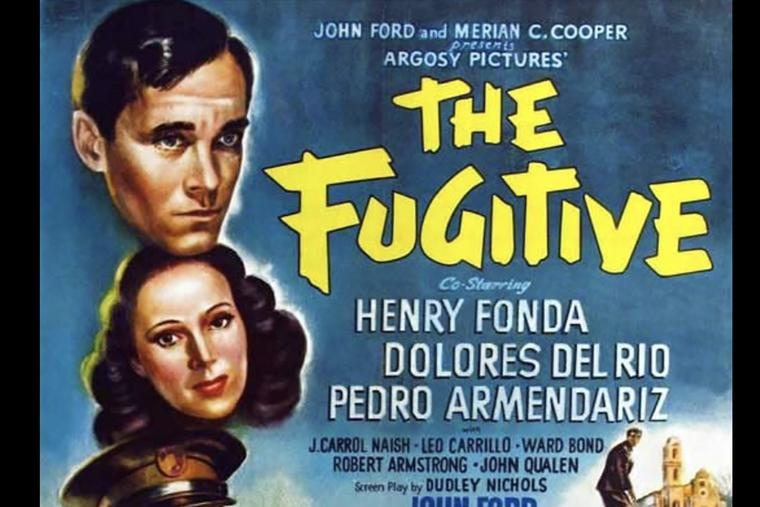 'The Fugitive' movie poster