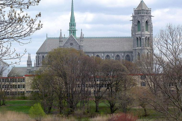 Sacred Heart Cathedral and Basilica in Newark.
