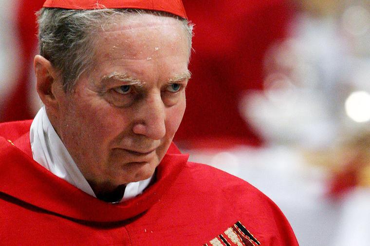 Cardinal Carlo Maria Martini of Milan visits St. Peter's Basilica on April 12, 2005.