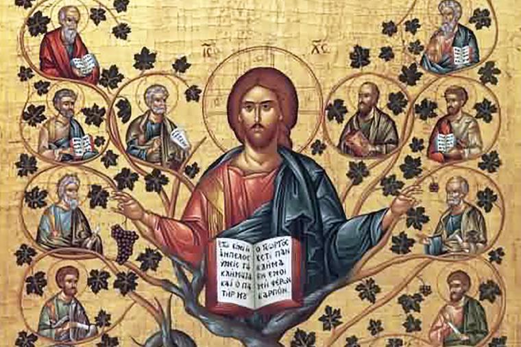 """Christ the True Vine"""
