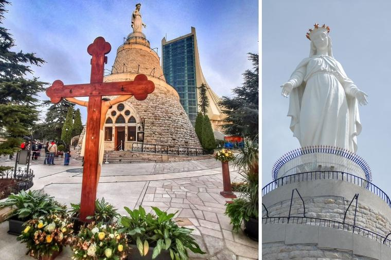 The Our Lady of Lebanon Shrine in Harissa will take part in the worldwide Rosary marathon to end the coronavirus pandemic on May 29.