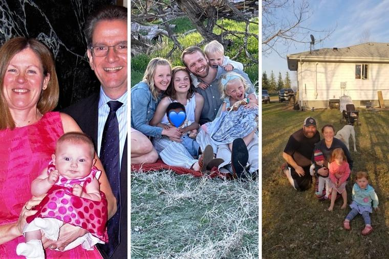 The Caruso, Liffrig and Mattson families have opened their hearts and homes to children in need.