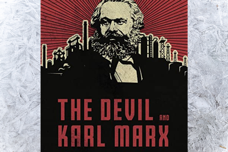 Book cover of 'The Devil and Karl Marx' by Paul Kengor.