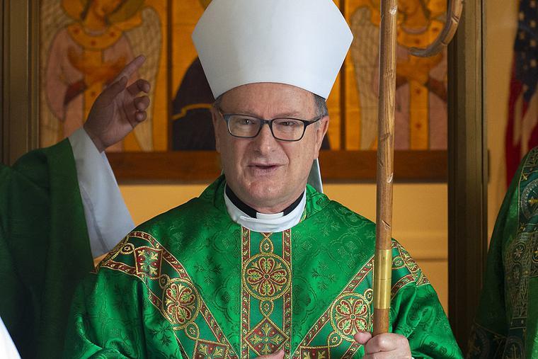Bishop Michael C. Barber of Oakland, Calif.