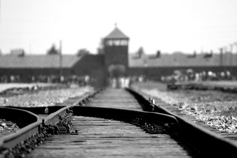 """Ron Porter, """"Auschwitz"""""""