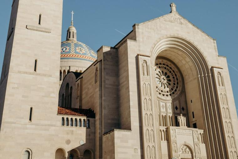 The Archdiocese of Washington and the Baltimore Province are among the dioceses lifting the COVID-19 Mass restrictions. The Basilica of the National Shrine of the Immaculate Conception, located in Washington, is shown above.