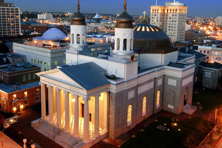 The Basilica of the National Shrine of the Assumption of the Blessed Virgin Mary