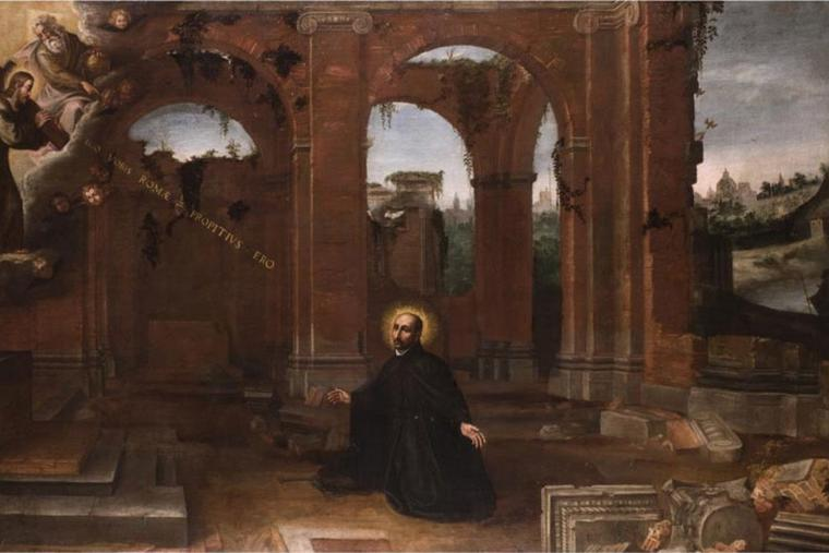 'Vision of Ignatius of Loyola'
