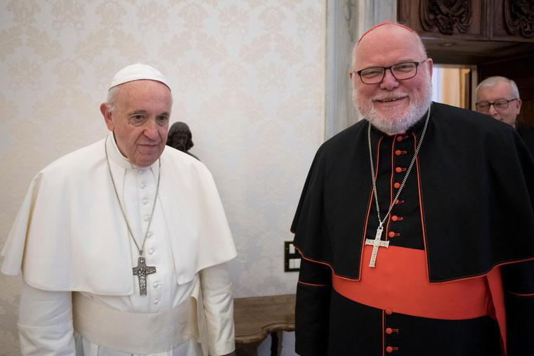 Pope Francis received Cardinal Reinhard Marx, Archbishop of Munich and Freising and Coordinator of the Council for Economics, in a private audience at the Vatican on May 27, 2019