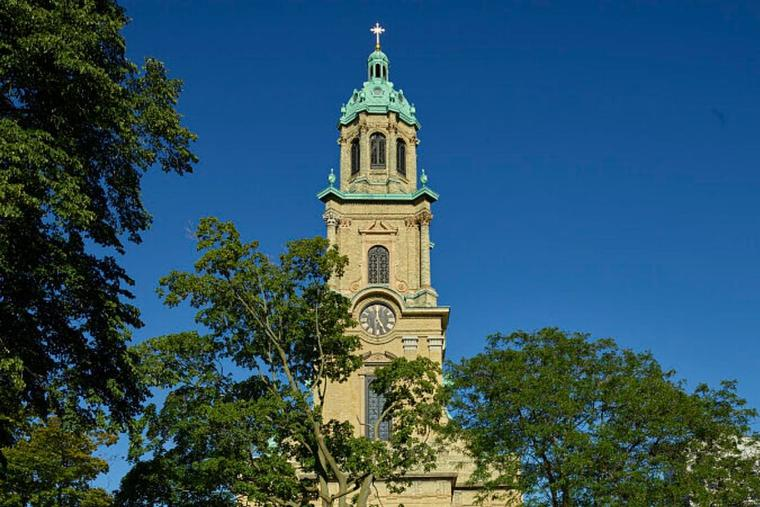 The Cathedral of St. John the Evangelist is the episcopal see of the Archdiocese of Milwaukee, Wisconsin.