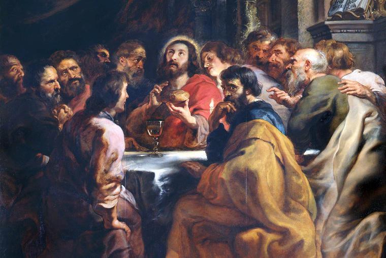 "Peter Paul Rubens, ""The Last Supper,"" ca. 1632"