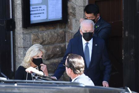 Joe Biden Attends Sunday Mass in English Seaside Town Amid G7 Summit