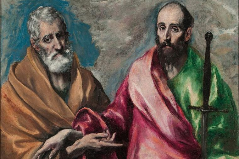 'Saint Peter and Saint Paul,' by El Greco, 1590-1600