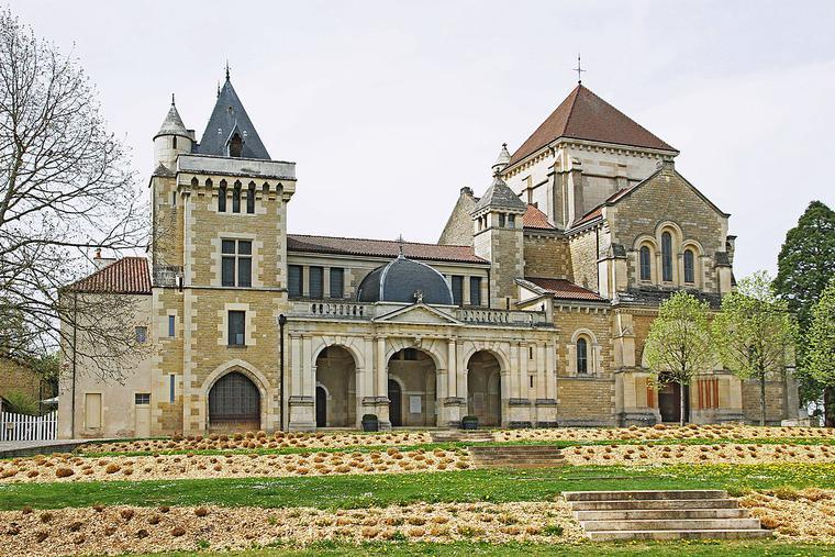 The Basilica of Fontaine-lès-Dijon, France.