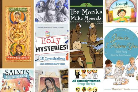 New Catholic Books for Young Readers Focus on Faith, Saints and Even Science