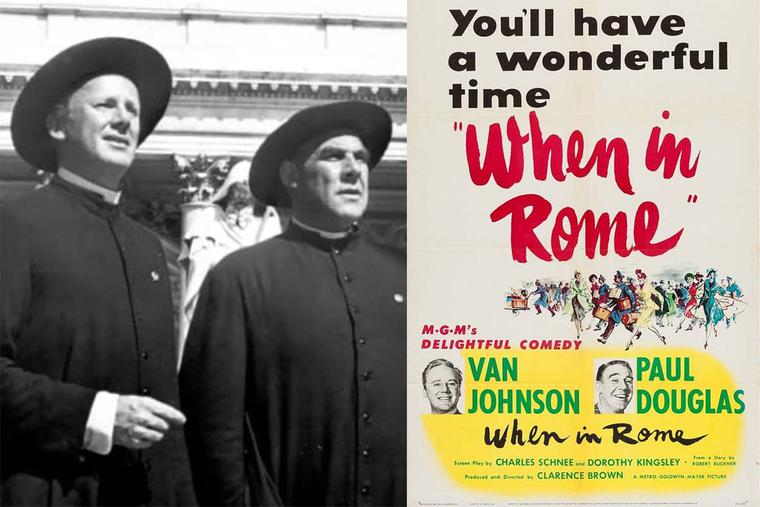 'When In Rome' screen shot and movie poster